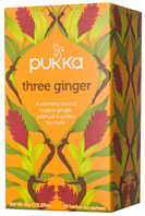 Herbal Tea Three Ginger 20 bags Pukka Herbs