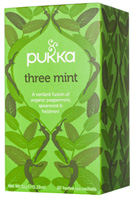 Herbal Tea Three Mint 20 bags Pukka Herbs