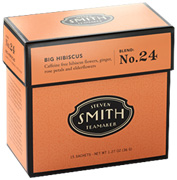 Herbal Tea Blend No. 24 Big Hibiscus 15 bags Smith Teamaker