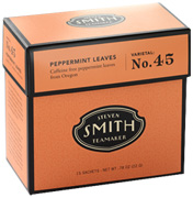 Herbal Tea Blend No. 45 Peppermint Leaves 15 bags Smith Teamaker