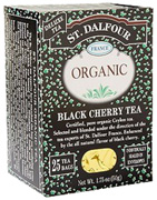 Black Tea Black Cherry 25 bags St. Dalfour