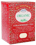 Black Tea Strawberry 25 bags St. Dalfour