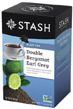 Black Tea Double Bergamot Earl Grey STASH TEA
