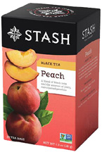 Black Tea Peach STASH TEA