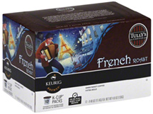 Coffee K-Cup 12 ct. French Roast Extra Bold Tully's