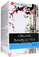 Organic Bamboo Tea Mint 18 bags Uncle Lee's Tea