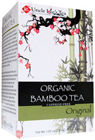 Organic Bamboo Tea Original 18 bags Uncle Lee's Tea