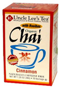 Organic Chai Tea Cinnamon 18 bags Uncle Lee's Tea