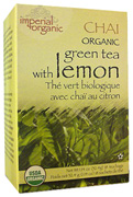 Imperial Organic Chai Tea Lemon 18 bags Uncle Lee's Tea