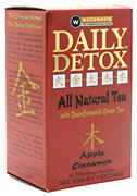 Daily Detox Apple Cinnamon, 30 ct. Wellements