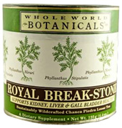 Royal Break-Stone Tea, 4.4 oz. Whole World Botanicals