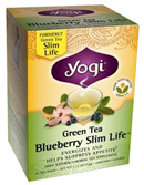 Weight Loss Tea Blueberry Slim Life 16 Tea bags Yogi Tea