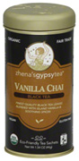 Chai Tea Vanilla Chai Black, 22 ct. Zhena's Tea