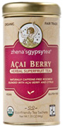 Herbal Tea Acai Berry, 22 ct. Zhena's Tea