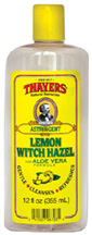 Witch Hazel Astringent Lemon