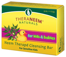 Neem Kids & Babies Cleansing Bar 4 oz.Theraneem Naturals