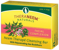 Neem Therape Cleansing Bar Soap Facial Complexion 4 oz. Theraneem Naturals