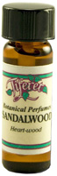 Single Perfume Oil Sandalwood 0.17 oz.Tiferet Aromatherapy