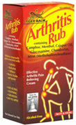Arthritis Rub Cream 4 oz. Tiger Balm