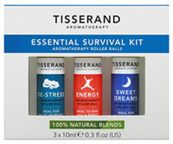 Essential Survival Kit, 3 pc. Tisserand Aromatherapy