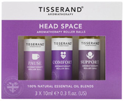 Remedy Roller Balls Head Space Kit, 3 pc. Tisserand