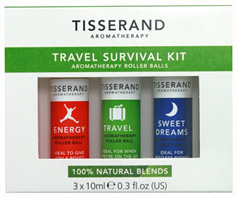 Travel Survival Kit, 3 pc. Tisserand Aromatherapy