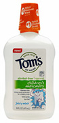 Children's Anticavity Fluoride Rinse Juicy Mint Tom's of Maine