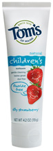 Natural Childrens Fluoride-Free Toothpaste Silly Strawberry 4.2 oz.