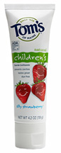 Natural Childrens Fluoride Toothpaste Silly Strawberry 4.2 oz.
