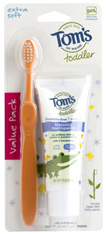 Natural Toddler Toothpaste & Toothbrush Value Pack 2 pc.