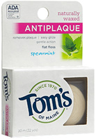 Anti Plaque Flat Floss: Tom's of Maine