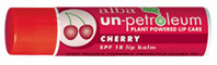 Cherry Lip Balm SPF18, .15 oz. Un-Petroleum