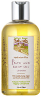 Hydration Plus Bath & Body Oil 8 oz. Valley Green Naturals