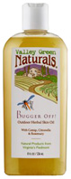 Bugger Off Outdoor Herbal Skin Oil 8 oz. Valley Green Naturals