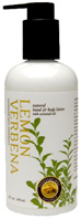 Hand & Body Lotion Lemon Verbena 9 oz. Vineyard Hill Naturals