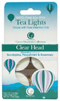 Tea Light Clear Head 4 Pack Way Out Wax