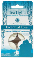 Tea Light Escentual Love 4 Pack Way Out Wax