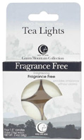 Tea Light Fragrance Free 4 Pack Way Out Wax