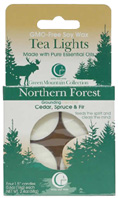 Tea Light Northern Forest 4 Pack Way Out Wax