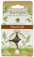Tea Light Patchouli 4 Pack Way Out Wax