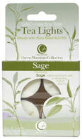Tea Light Sage 4 Pack Way Out Wax