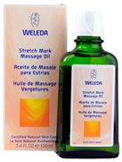 Stretch Mark Massage Oil 3.4 oz. Weleda