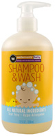 Shampoo and Wash 12 oz.Wellements