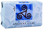 Ancient Clay Organic Soap Blue Sky 6 oz. Zion Health
