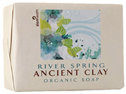 Ancient Clay Organic Soap River Spring 10.5 oz. Zion Health