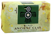 Ancient Clay Organic Soap Wind 6 oz. Zion Health