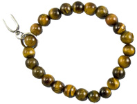 Art of Luck Friendship Bracelet Tiger Eye Horseshoe Charm Zorbitz Inc.