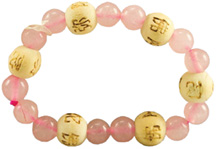Karma Kids Bracelet Rose Quartz / Love & Friendship Zorbitz Inc.