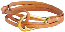 Hook & Co. Leather Bracelet Brow Zorbitz Inc.n