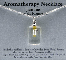Aromatherapy Necklace Jasmine  Love & Romance Zorbitz Inc.